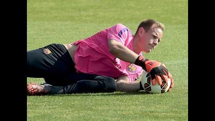 Marc-André Ter Stegen se suma a la lista de lesionados del Barcelona