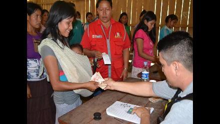 Amazonas: nativas recibirán bono en sus propias comunidades