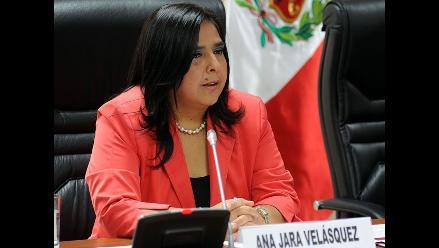 Gamarra destaca papel de Jara para lograr voto de confianza del Congreso