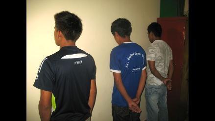 Huaral: internan en reformatorio a delincuentes que asaltaron banco