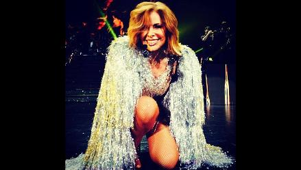 Gloria Trevi anuncia concierto en Arequipa