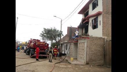 Pisco: internos de centro de rehabilitación sufren asfixia tras incendio
