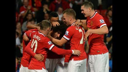 Manchester United derrotó 2-1 a Valencia en amistoso jugado en Old Trafford