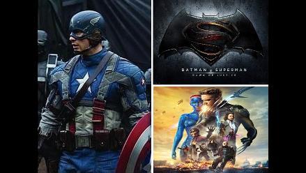 Las películas de superhéroes que se estrenarían hasta el año 2020