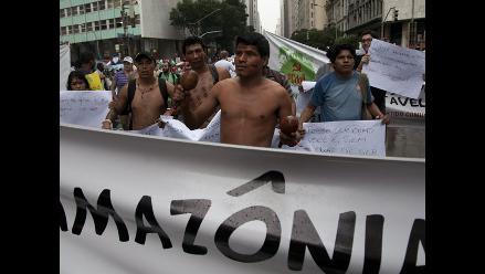 Indígenas presentan demanda de amparo contra exploración petrolera