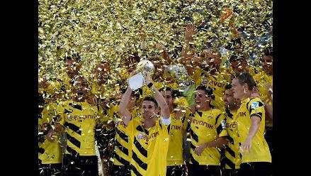 Borussia Dortmund vence 2-0 al Bayern Munich y logra la Supercopa alemana