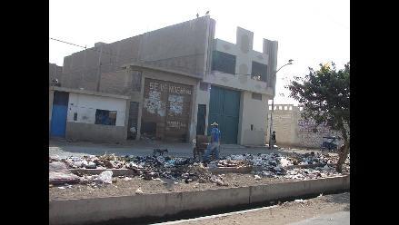 Chiclayo: obreros ediles realizan paro exigiendo pago de mensualidad