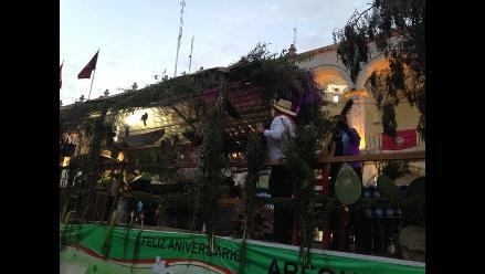 Arequipa: realizan tradicional ´entrada de ccapo´