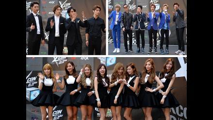 Girls´ Generation, CNBLUE, TEEN TOP y otros artistas en el KCON 2014