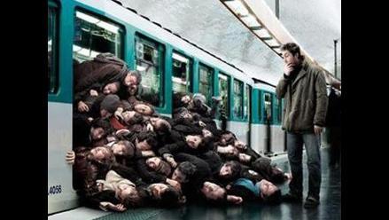 Metro de Santiago colapsó y usuarios crearon divertidos memes