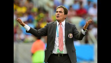 Jorge Luis Pinto orgulloso del rankig FIFA de la la selección de Costa Rica