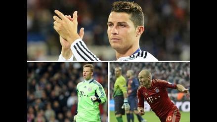Ronaldo, Robben y Neuer: ¿Quién será el mejor jugador europeo 2013-14?