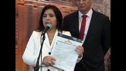 Ana Jara: Tomo con seriedad el desliz de Juan Díaz Dios