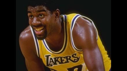 Recuerda las mejores jugadas de Magic Johnson en su cumpleaños 55