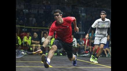 Diego Elías accede a semifinal del Campeonato Mundial Junior de Squash