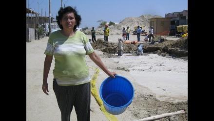 Tumbes: falta de agua en Canoas de Punta Sal es por obra retrasada