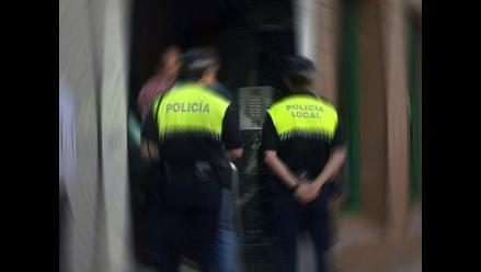 Detienen a peruano en España acusado de apuñalar a su esposa