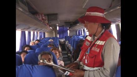 Lambayeque: Sutran y Policía de Carreteras sancionan a 33 conductores