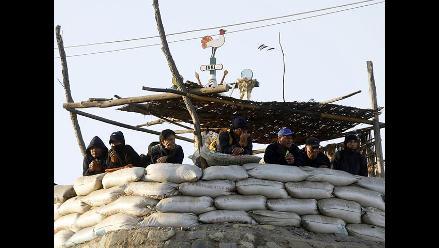 Andahuasi: trabajadores atrincherados pese a suspensión de desalojo