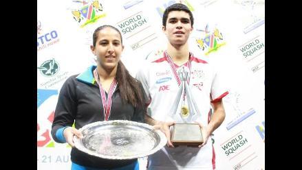 Diego Elías se consagra campeón del Mundial Junior de Squash en Namibia