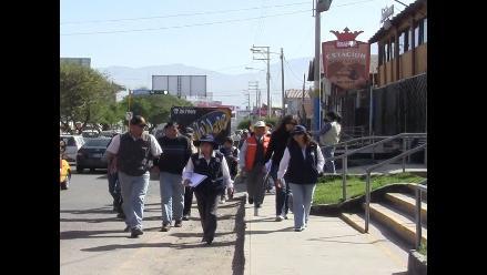 Realizan última inspección en corso de Arequipa