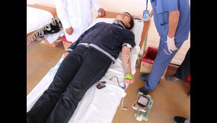 Puno: recaudan más de 2396 unidades de sangre en campaña de donaciones