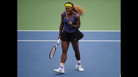 Serena Williams superó a Wozniacki y avanza a la final de Cincinnati