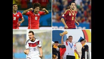 Estos jugadores le dijeron adiós a su selección tras el Mundial Brasil 2014