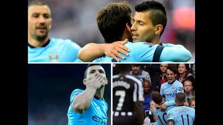 Así venció Manchester City al Newcastle por la fecha 1 de la Premier League