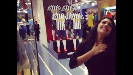 Vania Bludau, la nueva hincha de Alianza Lima que encandila con su belleza
