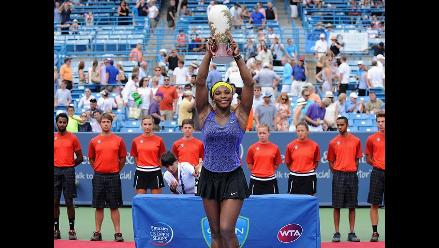 Serena Williams venció a Ivanovic y logró su primer título en Cincinnati