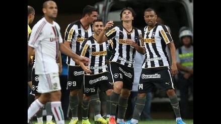 Botafogo con Luis Ramírez de titular venció 2-0 al Fluminense