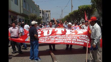 Lambayeque: facción de docentes anuncia paro contra Minedu