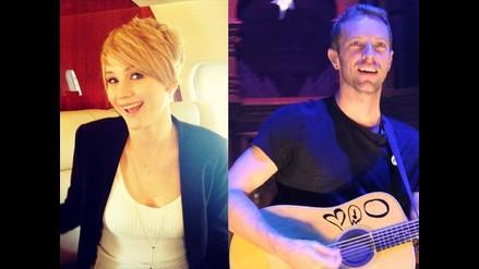 Crecen rumores de ´relación´ entre Jennifer Lawrence y Chris Martin