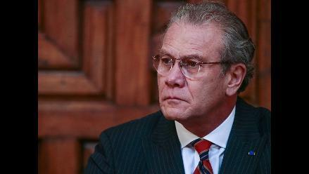 Canciller destaca experiencia de García-Sayán para su candidatura a OEA