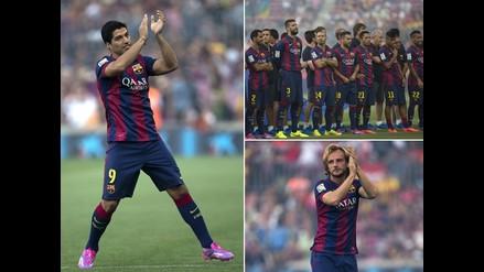 Revive la presentación de Luis Suárez como nuevo jugador de Barcelona