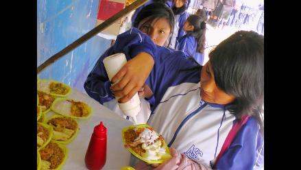 Huancayo: 10 % de productos son saludables en cafetín escolar