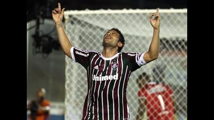 Fred ejecutó uno de los peores penales con Fluminense en el Brasileirao