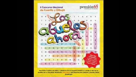 ´Los abuelos ahora´ 2014: Concurso de Pensión 65 incluye nueva categoría