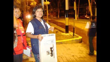 Arequipa: sortean ubicación de movimientos políticos en cédula de sufragio