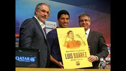 Barcelona hizo oficial el monto que pagó al Liverpool por Luis Suárez