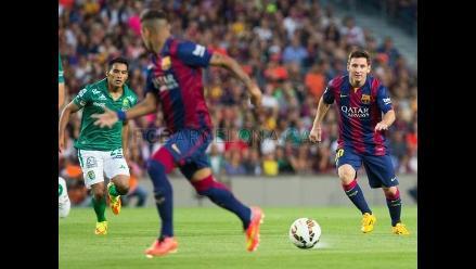 Barcelona: Completo resumen del debut de Luis Suárez y el triunfo ante León
