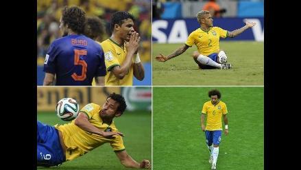 Thiago Silva y Alves encabezan lista de los
