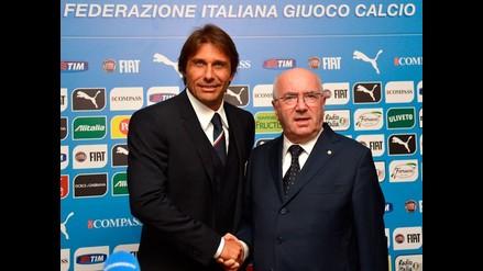 Antonio Conte fue presentando oficialmente como técnico de Italia