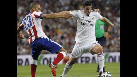 James Rodríguez anotó su primer gol con Real Madrid en Supercopa de España