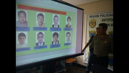 Chiclayo: falta capturar a siete integrantes de ´La Gran Familia´
