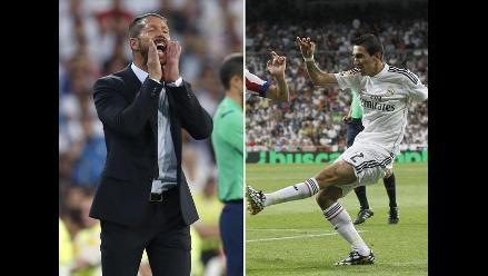 Diego Simeone: Ángel Di María es el mejor jugador del Real Madrid