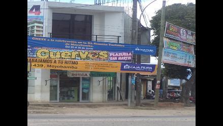 Moyobamba: prohíben colocar banderolas en postes de alumbrado público