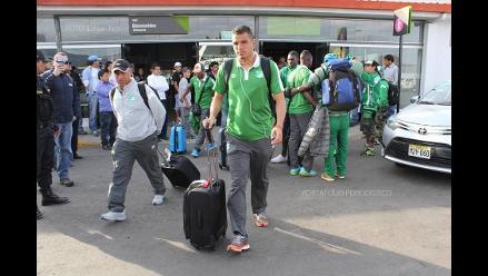 Deportivo Cali ya se encuentra en Cajamarca para enfrentar a UTC