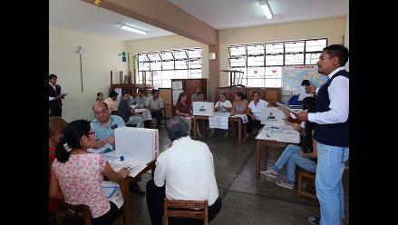 ONPE: Miembros de mesa para elecciones serán elegidos este jueves